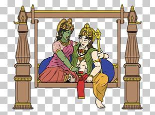 Shiva Ganesha Kartikeya Thiruthani Murugan Temple PNG