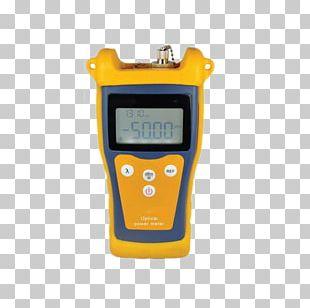 Optical Power Meter Optical Fiber Light Optics Gauge PNG