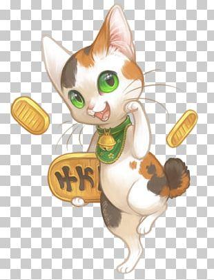 Japan Cat Maneki-neko Luck PNG