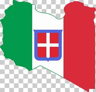 Kingdom Of Italy Italian Libya Flag Of Libya PNG