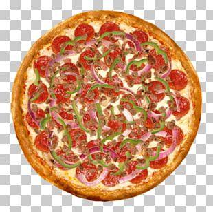 California-style Pizza New York-style Pizza Italian Cuisine Sicilian Pizza PNG