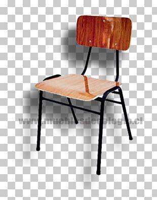 Chair Table Carteira Escolar School Furniture PNG