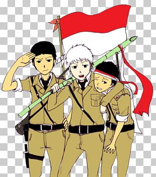Flag Of Indonesia Proclamation Of Indonesian Independence Animation PNG