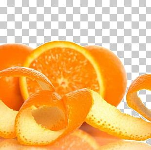 Juice Mandarin Orange Tangerine Peel PNG