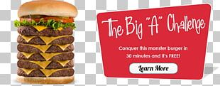 Hamburger Cheeseburger Fast Food McDonald's Big Mac Patty PNG