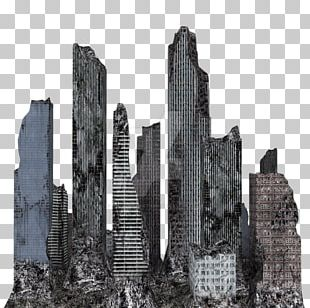 New York City Building Skyline PNG