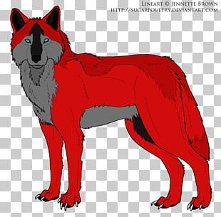 Red Fox Dog Coyote Artist PNG