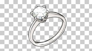 Ring Diamond Marriage Proposal PNG