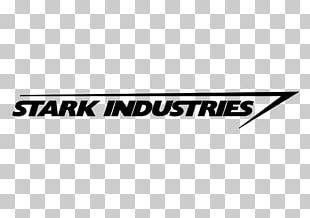 Iron Man Stark Industries Logo Decal Marvel Comics PNG