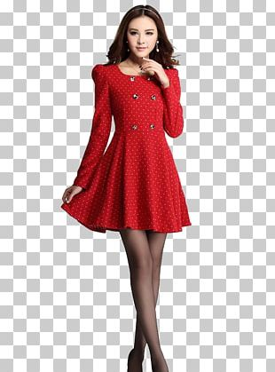 Party Dress Christmas Clothing Woman PNG