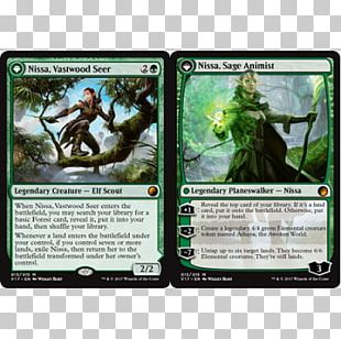 Magic: The Gathering Online Nissa PNG