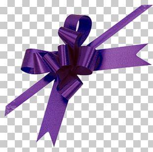 Purple Ribbon Awareness Ribbon PNG