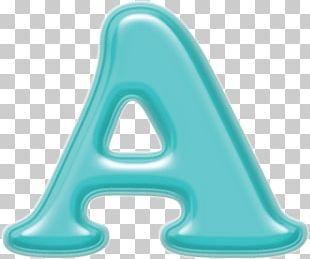 Letter Alphabet All Caps Blue Color PNG