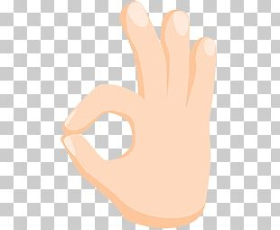 Emojipedia OK Thumb Sign Language PNG