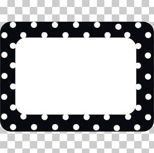 Name Tag Polka Dot Label Name Plates & Tags Teacher PNG