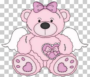 Teddy Bear Pink PNG