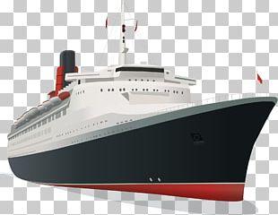 Cruise Ship Luxury Yacht PNG