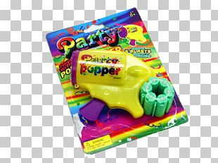 Party Popper Confetti Birthday Toy PNG