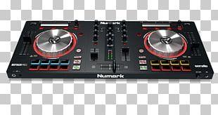 DJ Controller Numark Industries Disc Jockey Audio Mixers PNG