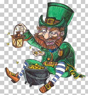 Leprechaun Saint Patrick's Day Corned Beef March 17 PNG