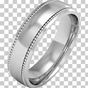 Wedding Ring Silver Diamond Gold PNG