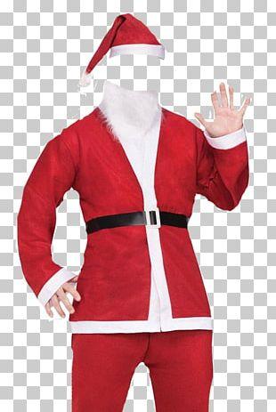Santa Claus Santa Suit Costume Christmas PNG