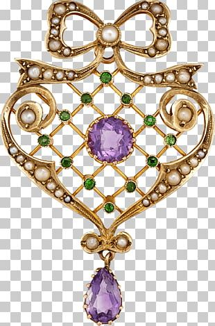 Amethyst Brooch Jewellery Suffragette Charms & Pendants PNG