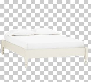 Bed Frame Mattress Couch Angle PNG