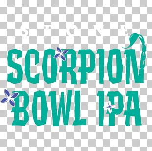 Beer India Pale Ale Scorpion Bowl Stone Brewing Co. Logo PNG