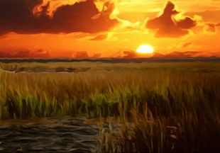 The Battle For Wesnoth Sunset Sky Landscape Afterglow PNG