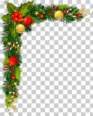 Borders And Frames Christmas Card Christmas Tree PNG
