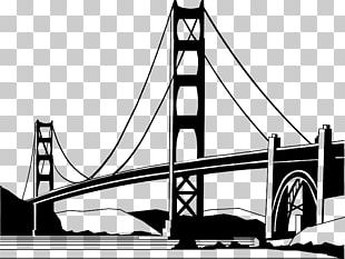 Golden Gate Bridge Palace Of Fine Arts Theatre Mackinac Bridge PNG