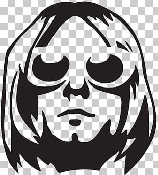 Nirvana Wall Decal Sticker Stencil PNG