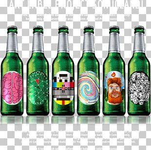 Beck's Brewery Beer Bottle Artist PNG