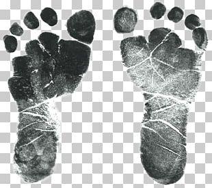 Infant Footprint Child PNG