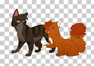 Whiskers Cat Squirrelflight Brambleclaw Warriors PNG