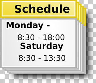 Free Content School Timetable PNG