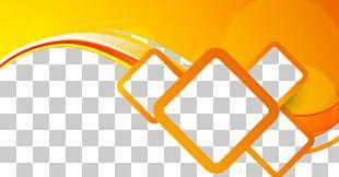 Orange Photography Illustration PNG