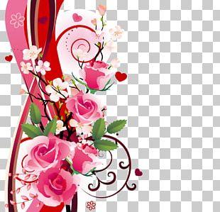 Paper Rose Flower Floristry PNG
