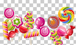 Lollipop Candy Cake PNG