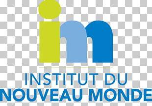 Institut Du Nouveau Monde Logo Organization Brand Product Design PNG