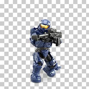 Master Chief Mega Bloks Halo Micro-Fleet Mantis Invasion (Action Figures/Figures) Mega Brands Factions Of Halo PNG
