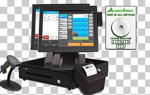 Point Of Sale Display Sales Retail Cash Register PNG
