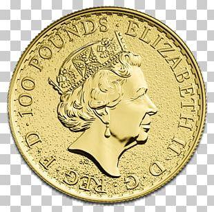 Royal Mint Britannia Bullion Coin Gold Coin PNG