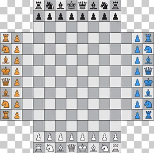 Four-player Chess Chess Variant Free 4 Player Chess Game PNG