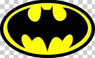 Batman Logo Sticker PNG