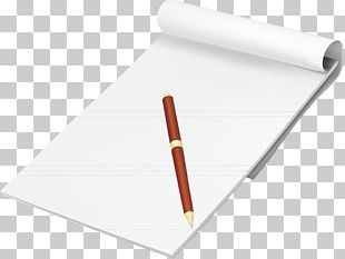 Paper Pencil Notebook PNG