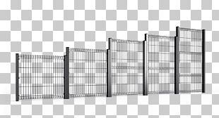 Steel Fence Guard Rail Metal Wire PNG