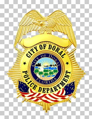 City Of Doral Police Department Miami Police Department Badge PNG