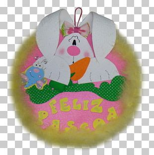 Easter Bunny Easter Egg Garland Rabbit PNG
